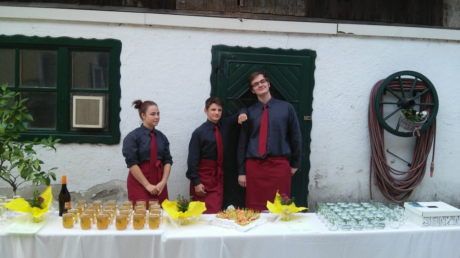 Cateringeinsatz in Tullnerbach